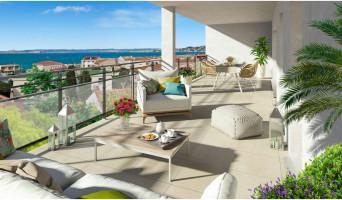 Marseille programme immobilier neuve « Esprit Calanques » en Loi Pinel  (2)
