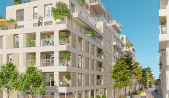 Clichy programme immobilier rénové « Atrium City 2 » en loi pinel