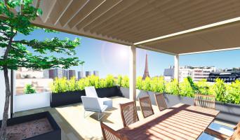Paris programme immobilier neuve « Résidence Desnouettes »