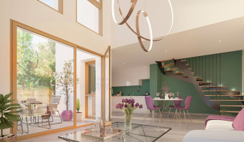 L'Isle-d'Abeau programme immobilier rénové « Résidence 3.0 » en loi pinel