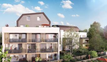 Strasbourg programme immobilier neuve « Le Carré des Muses »  (2)