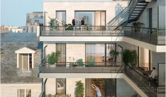 Clichy programme immobilier rénové « Recto Verso » en loi pinel