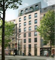 Clichy programme immobilier neuve « Recto Verso » en Loi Pinel  (2)