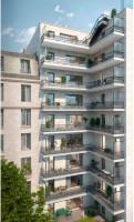 Clichy programme immobilier neuve « Recto Verso » en Loi Pinel  (3)