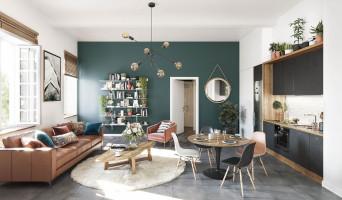 Angers programme immobilier neuve « Clos Vauvert Hôtel »