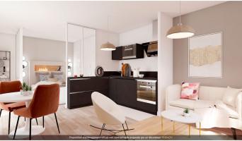 Villeurbanne programme immobilier rénové « Blum Médipôle » en loi pinel