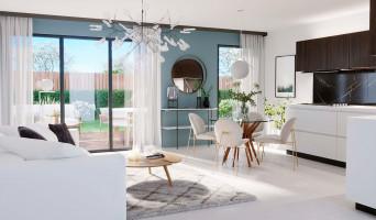 Pessac programme immobilier neuve « Les Jardins de Noès » en Loi Pinel  (5)