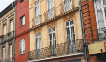 Toulouse programme immobilier à rénover « 27 Rue de la République » en Loi Pinel ancien