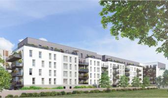Rouen programme immobilier rénové « Les Rives d'Emma » en loi pinel