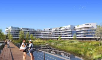 Canet-en-Roussillon programme immobilier rénové « Bleu Odyssée Bât B » en loi pinel