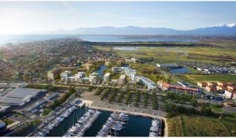 Canet-en-Roussillon programme immobilier neuve « Bleu Odyssée Bât B » en Loi Pinel  (5)