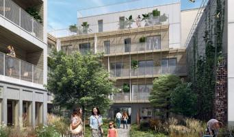 Paris programme immobilier neuf « L'Insolite