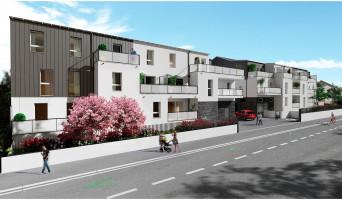 Carquefou programme immobilier neuve « Le Domaine du Castel » en Loi Pinel  (2)