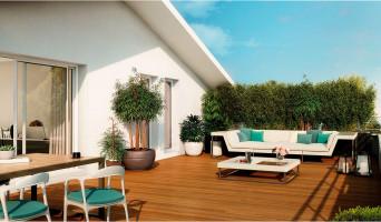 Toulouse programme immobilier neuve « Les Cèdes Bleus »  (2)