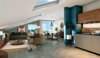 Toulouse programme immobilier neuve « Les Cèdes Bleus »  (3)