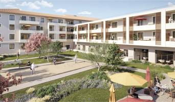 Châteaurenard programme immobilier neuve « L'Aubier de Tilia »