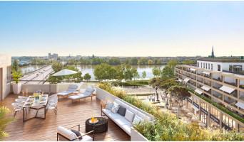 Bordeaux programme immobilier neuve « Belvédère - Bordoscena » en Loi Pinel