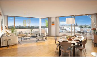 Bordeaux programme immobilier neuve « Belvédère - Bordoscena » en Loi Pinel  (4)