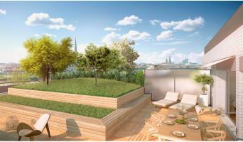 Bordeaux programme immobilier neuf « Le Belvédère - BordoRiva » en Loi Pinel