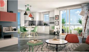 Toulouse programme immobilier neuve « Les Terrasses de Gonin » en Loi Pinel  (2)