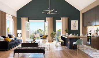 Chessy programme immobilier neuve « La Ferme de Chessy »  (3)