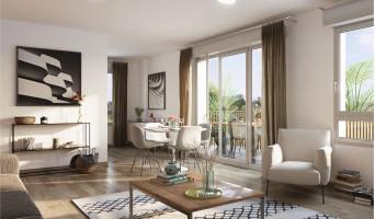 Chenôve programme immobilier neuve « Plein Coeur » en Loi Pinel  (3)