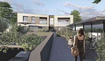 Bordeaux programme immobilier neuve « Green Set » en Loi Pinel  (2)