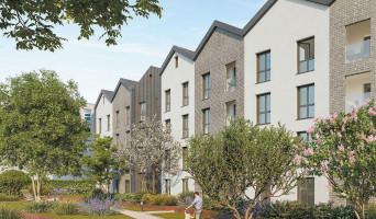 Lyon programme immobilier neuve « Urban 7 » en Loi Pinel  (2)