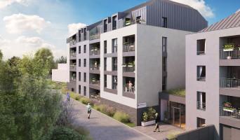 Angers programme immobilier neuve « Les Senioriales de Angers »