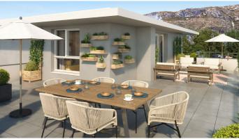 Marseille programme immobilier neuve « Green Allée » en Loi Pinel  (2)