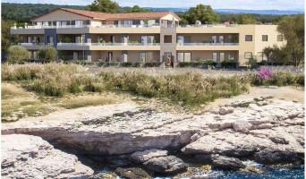 Martigues programme immobilier rénové « Corniche 180 » en loi pinel