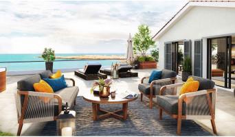 Martigues programme immobilier neuve « Corniche 180 » en Loi Pinel  (2)