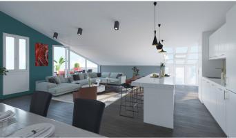 Bordeaux programme immobilier neuve « L'Intemporel » en Loi Pinel  (5)