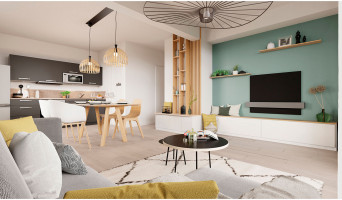 Saint-Herblain programme immobilier neuve « Côté Chézine » en Loi Pinel  (5)