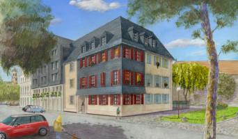 Honfleur programme immobilier neuf « Résidence du Bassin du Centre