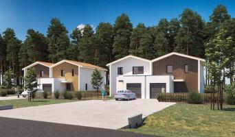 Biscarrosse programme immobilier neuve « Les Villas De Lapuyade »  (2)