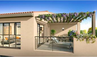 Aix-en-Provence programme immobilier neuve « Coeur Village » en Loi Pinel  (3)