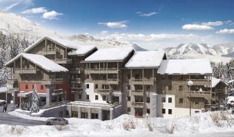 Les Avanchers-Valmorel programme immobilier neuf « L'Ecrin d'Argent »