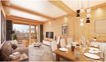 Les Avanchers-Valmorel programme immobilier neuve « L'Ecrin d'Argent »  (2)