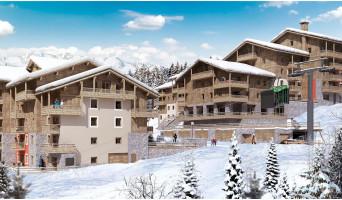 Les Avanchers-Valmorel programme immobilier neuve « L'Ecrin d'Argent »  (3)