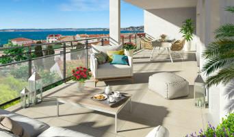 Marseille programme immobilier neuve « Esprit Calanques Bâtiment C »
