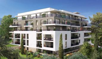 Antibes programme immobilier neuve « Parc Bel Azur »