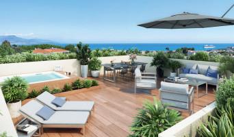 Antibes programme immobilier neuve « Parc Bel Azur »  (2)