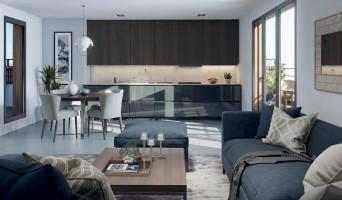 Châtillon programme immobilier neuve « Essen'Ciel »  (4)
