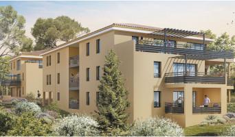 Aix-en-Provence programme immobilier neuf « Aix par Nature » en Loi Pinel
