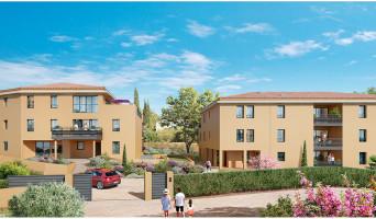 Aix-en-Provence programme immobilier neuve « Aix par Nature » en Loi Pinel  (2)