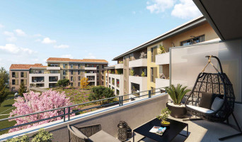 Auriol programme immobilier neuf « La Cour des Dames » en Loi Pinel