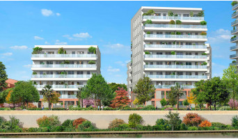 Toulouse programme immobilier neuve « Terre Garonne » en Loi Pinel  (2)