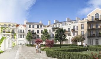 Serris programme immobilier rénové « Au temps du Faubourg » en loi pinel