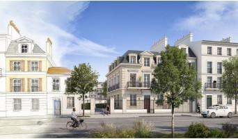 Serris programme immobilier neuve « Au temps du Faubourg » en Loi Pinel  (4)